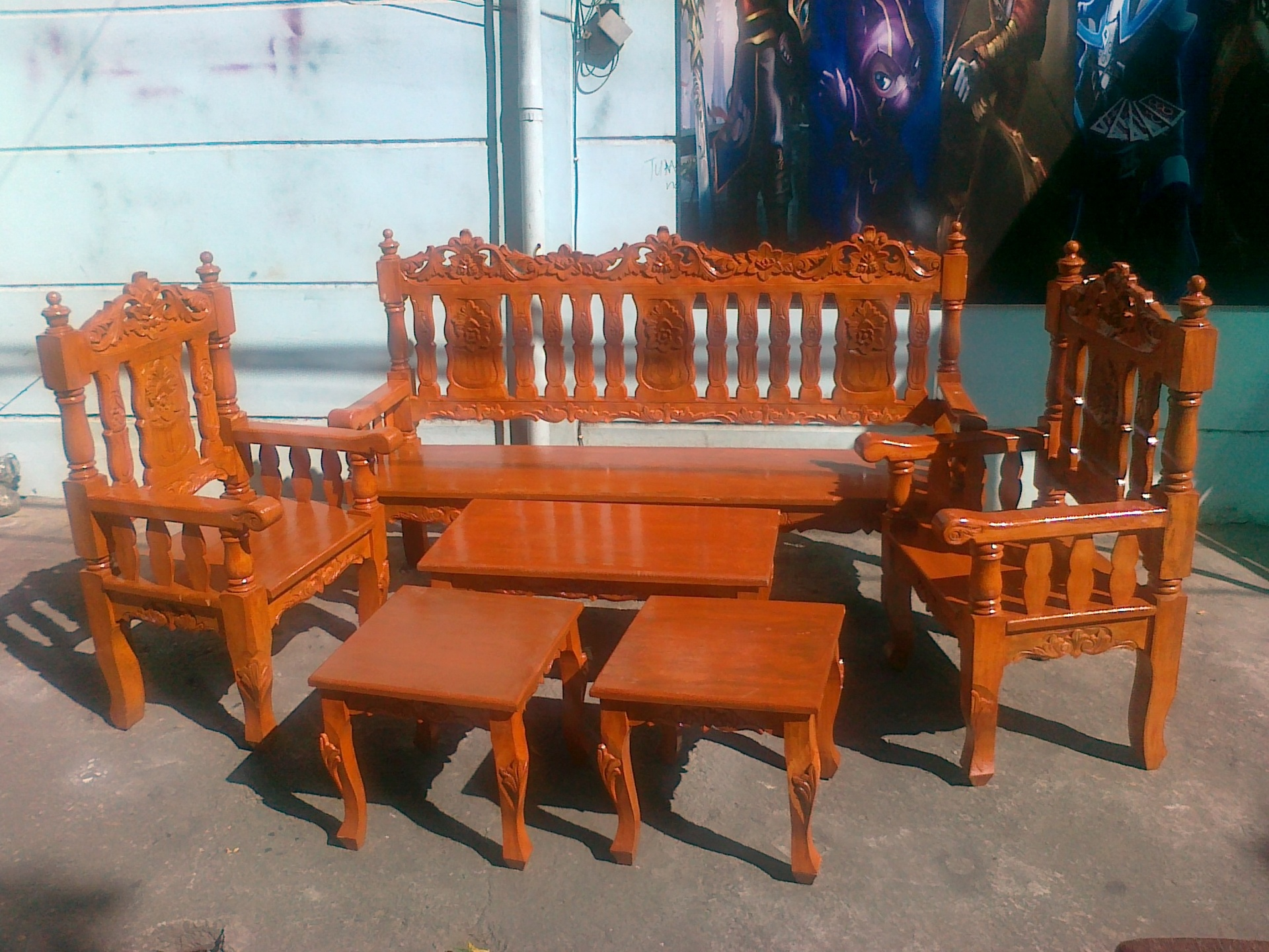 Sala Set Price In Tarlac Wooden Sala Set