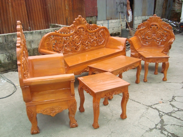 Palochina Sala Set Philippines Wooden Sala Set