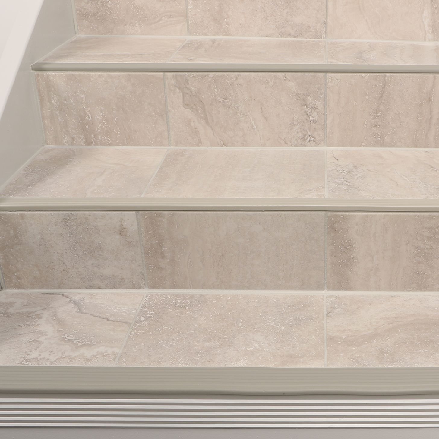Ceramic Tile Stair Nosing Stairs Schluter