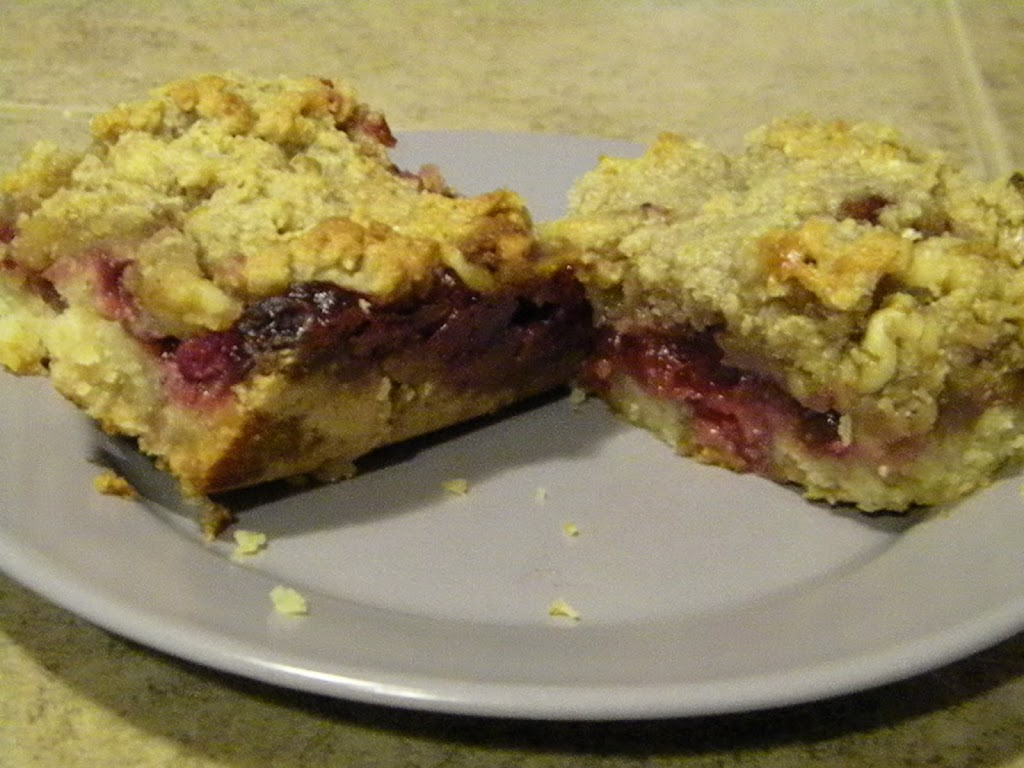 SCD Recipe: Cranberry Bars