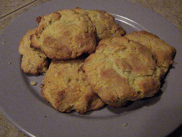 SCD Recipe: Cheese and Garlic Biscuits