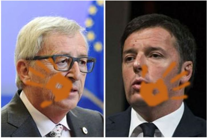 Sberla per Juncker su CETA – ma la guancia brucia a Calenda e Renzi: è l'UE bellezza!