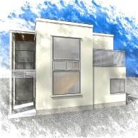 S邸新築工事 概要:2階建て 40坪(完成)