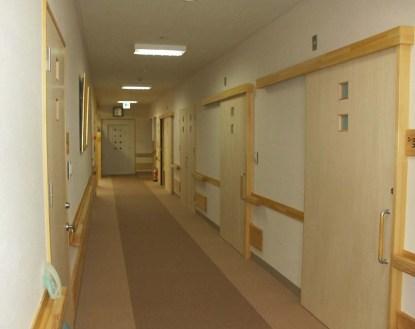 1階小規模多機能 空間の廊下