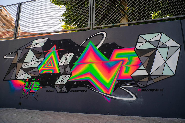 Chinese Calligraphy Wallpaper Hd Bling Bling Graffiti By Felipe Pantone Scene360