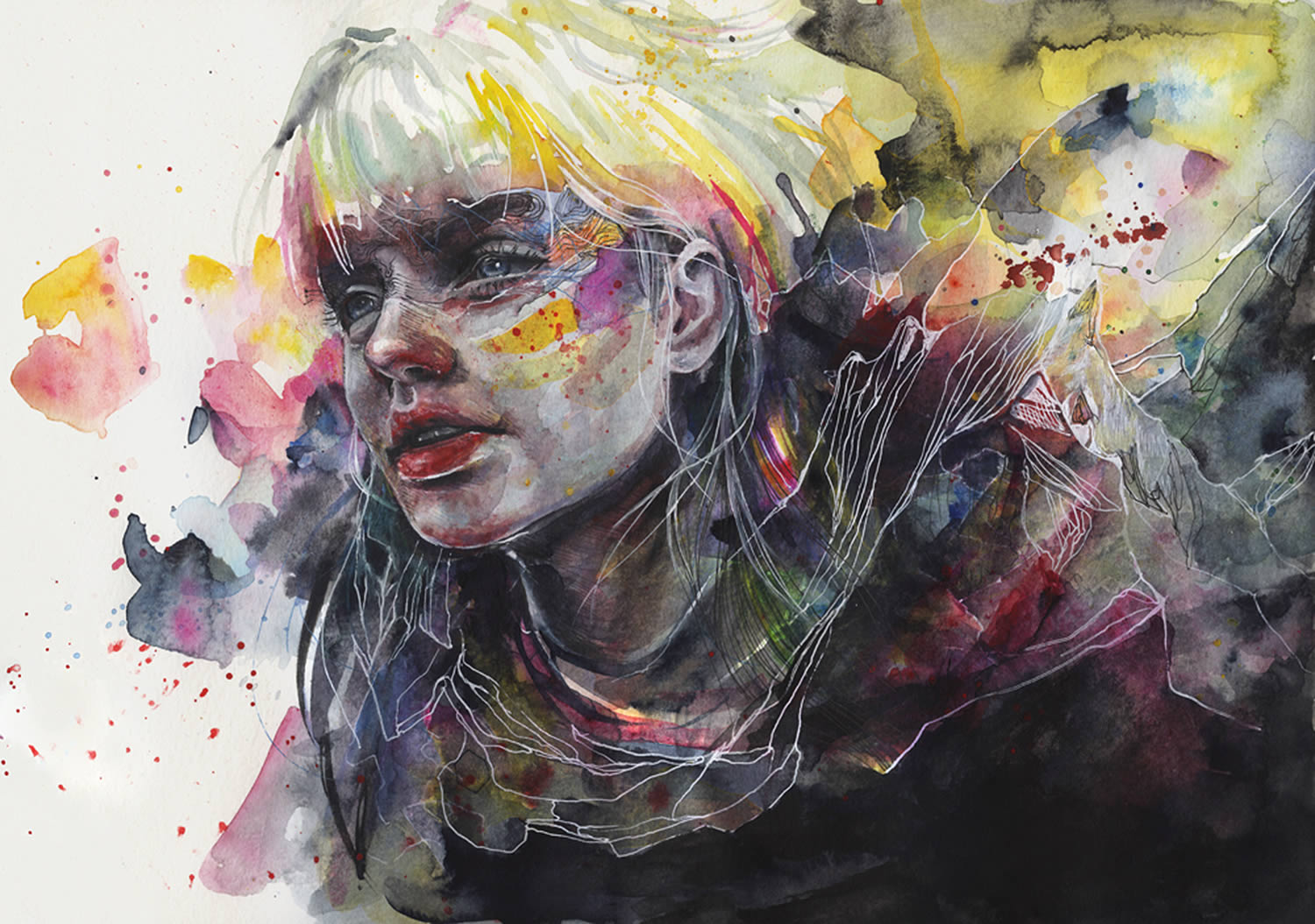 Agnes Ceciles Rainbow Watercolor Art From 2014 2015