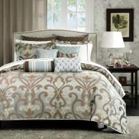 Sancerre Jacquard 16-piece Comforter Set - Queen - Sam's Club
