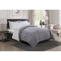 SALE! Christian Siriano Luxury Reversible Fur Comforter ...