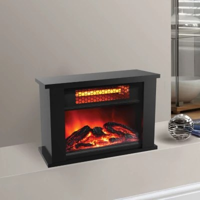 4488 Lifesmart Tabletop Infrared Fireplace Zcfp1014us