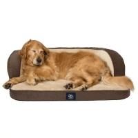 Serta Perfect Sleeper Oversized Orthopedic Sleeper Sofa ...