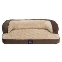 Serta Perfect Sleeper Oversized Orthopedic Luxury Sofa Pet ...
