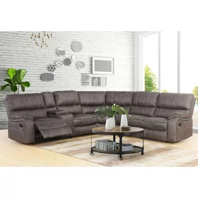 Chocolate Corduroy Sofa 1011 11 Izabella Dark Chocolate Corduroy 3 Piece Reclining Sofa