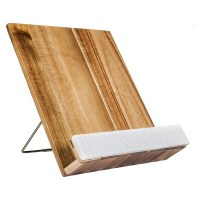 Threshold Acacia Wood Cookbook Holder : Target