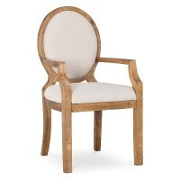 Morris Oval Back Dining Chair with Arms