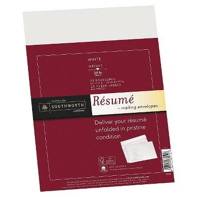 linen resume paper envelopes