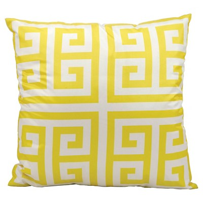 Greek Key Indoor Outdoor Decorative Pillow Ebay