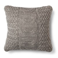 Cable Knit Throw Pillow - Threshold : Target