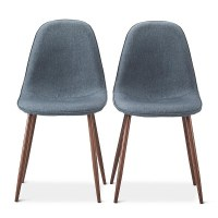 Porter Mid Century Modern Upholstered Dining Chair - Set ...
