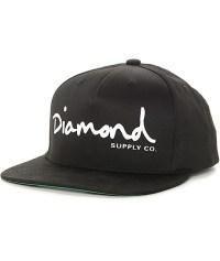 Diamond Supply Co OG Script Black Snapback Hat | Zumiez