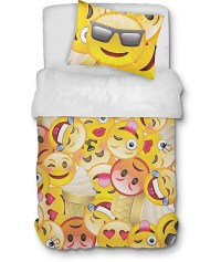 Night Shift Emoji Twin XL Comforter Set at Zumiez : PDP