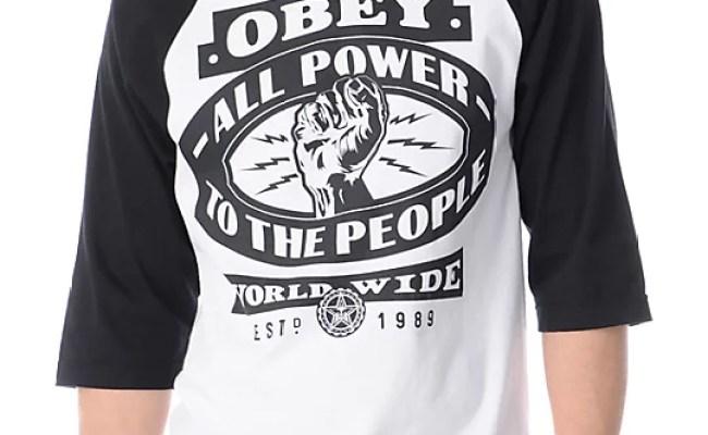 Zumiez Obey Shirts