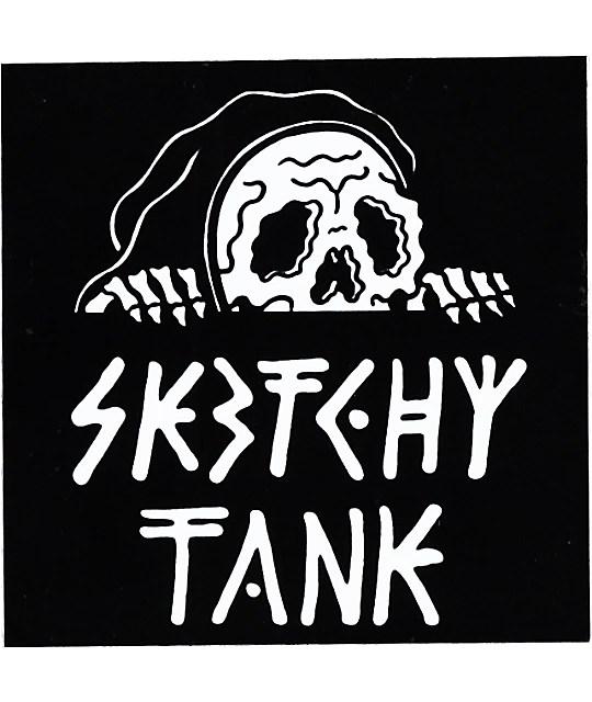 Tank Girl Wallpaper 4k Sketchy Tank Lurk Sticker Zumiez
