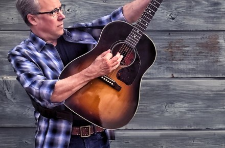 Radney Foster playing at Heritage Hall