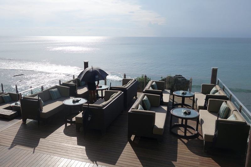 The Rock Bar At Ayana Resort Bali Scenes From Nadine