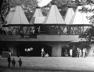 Serpentine Restaurant, Hyde Park, 1964 | Image: Royal Academy of Arts