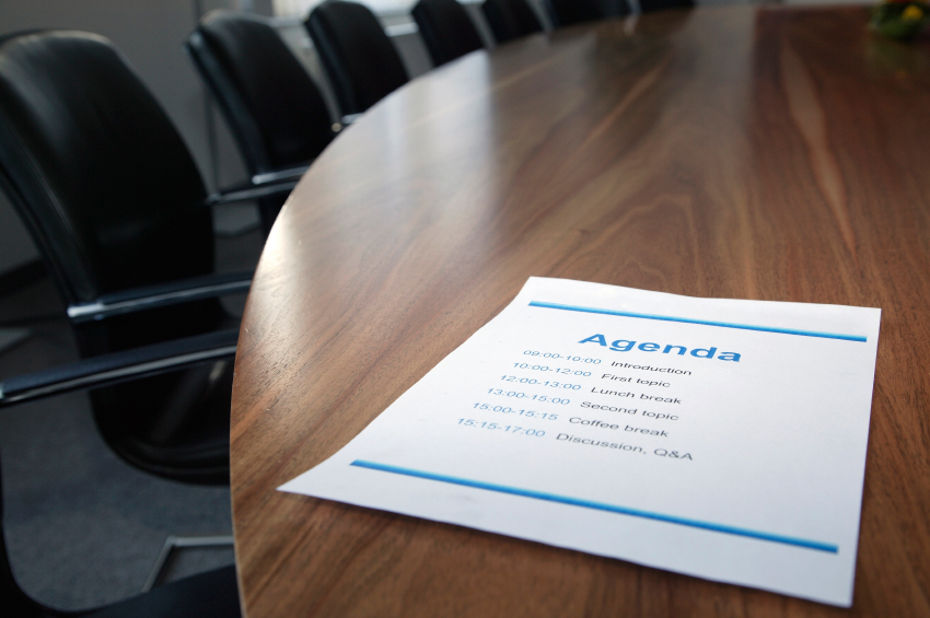 5 Ways to Make a Better Agenda for Board Meetings - SCG Nonprofits