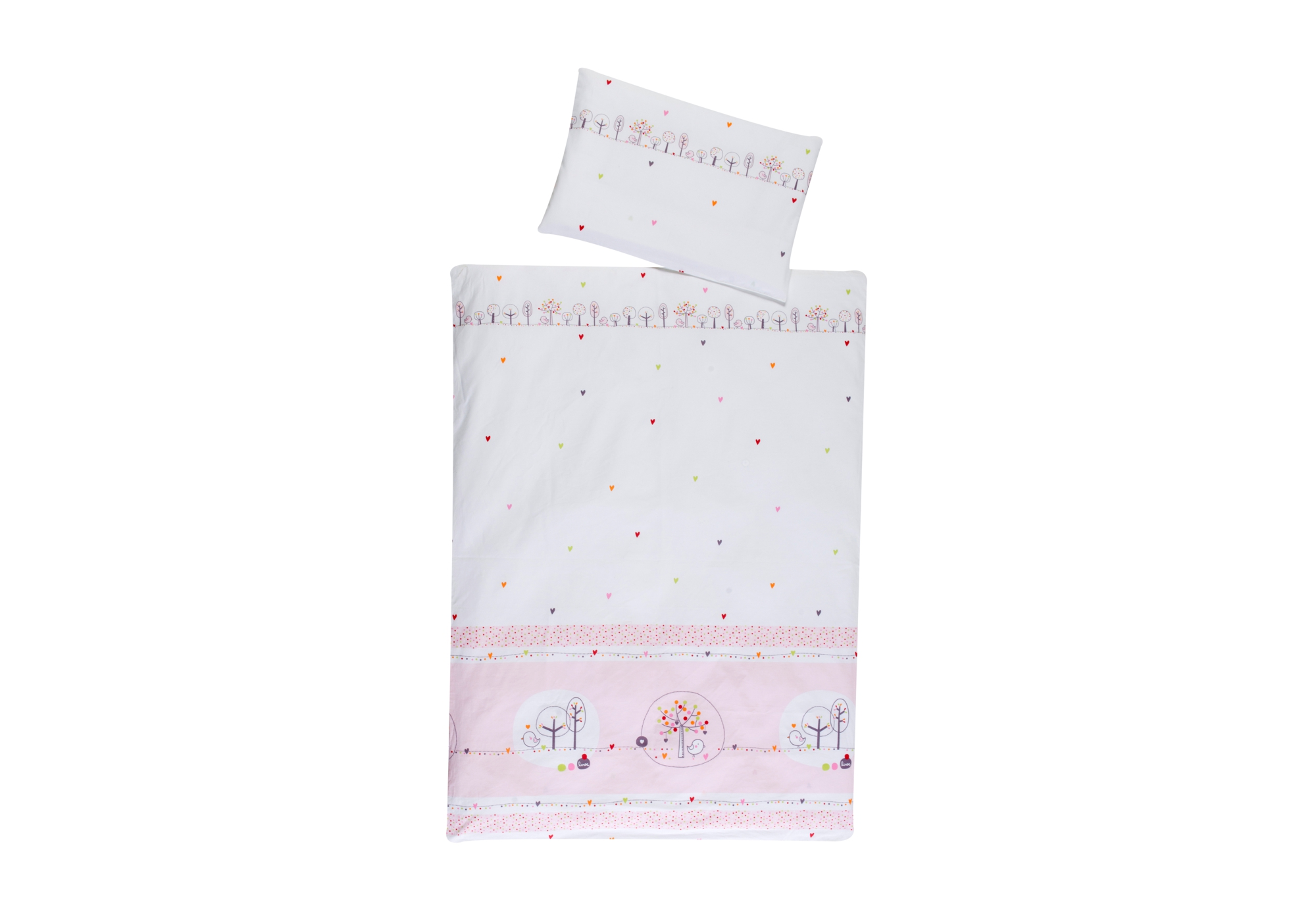 Easy Baby Bettwäsche Bedding Birdy Pink Schardt Gmbh Co Kg