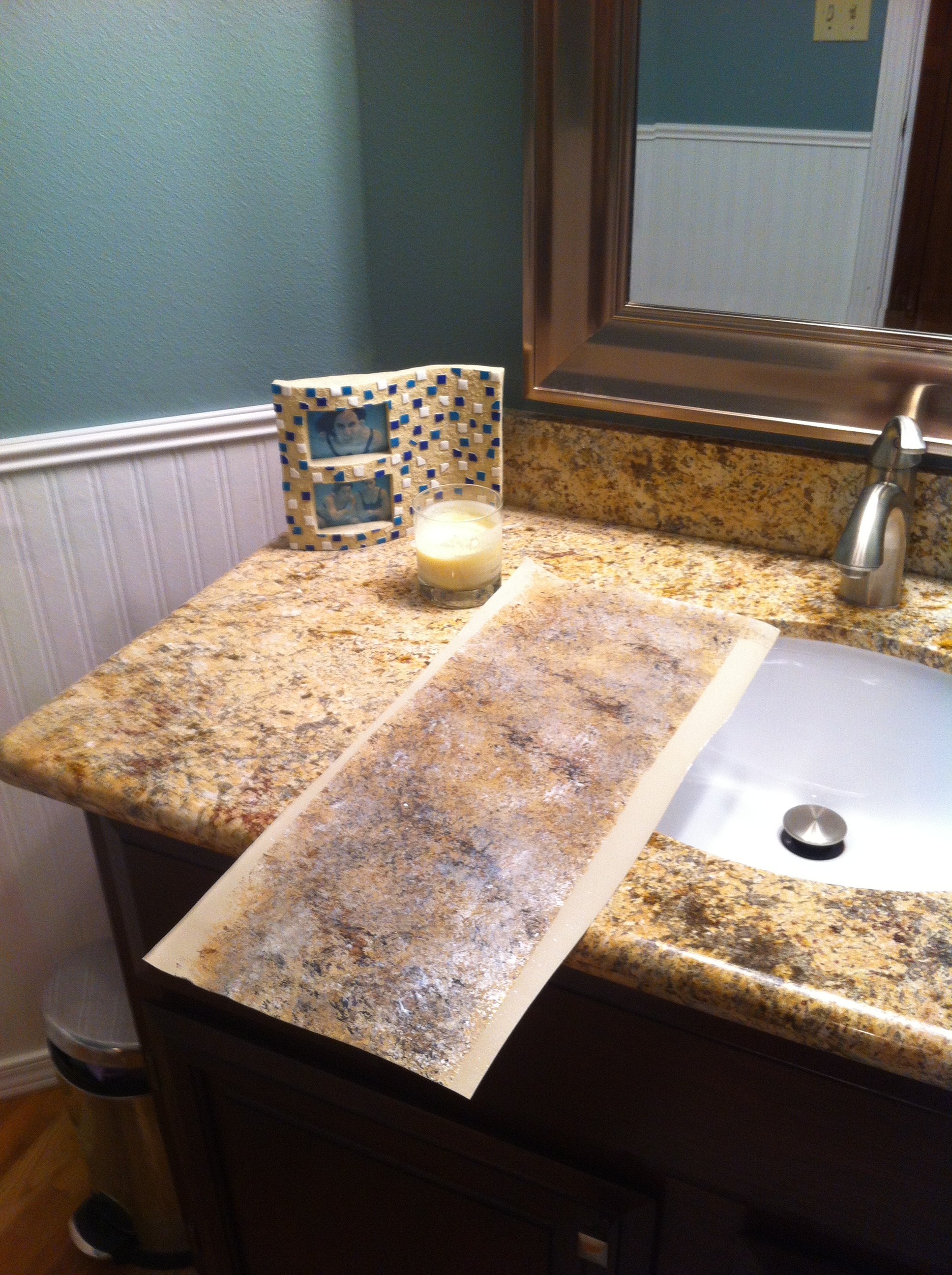 Paint For Countertops That Looks Like Granite Faux Sho Painted Granite Countertops Scharlerama