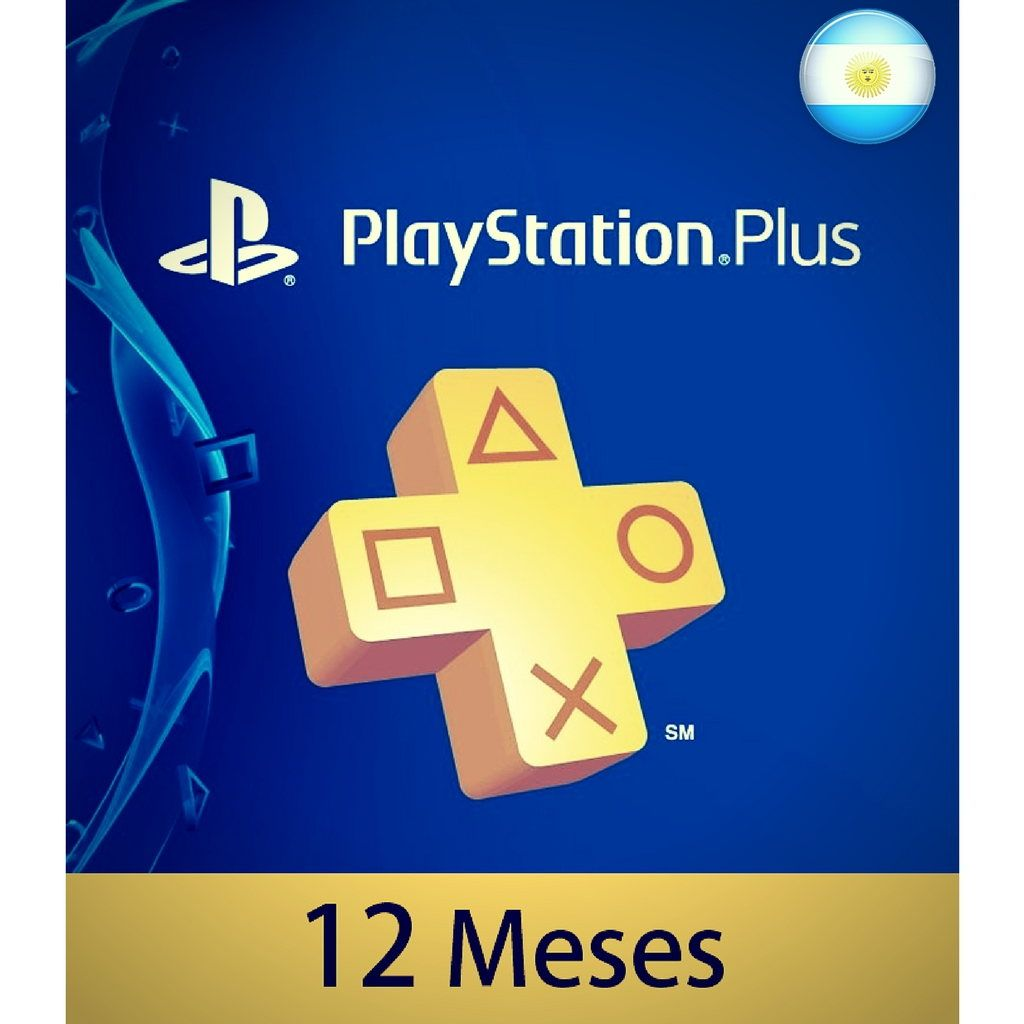 Playstation Plus 12 Meses Membresía Playstation Plus 12 Meses Argentina Scheda Up
