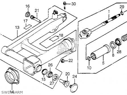 1983 Honda Magna V45 Wiring Diagram