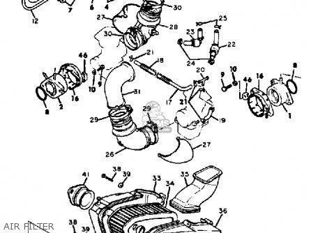 1983 Yamaha Virago Xv500 Wiring Diagram