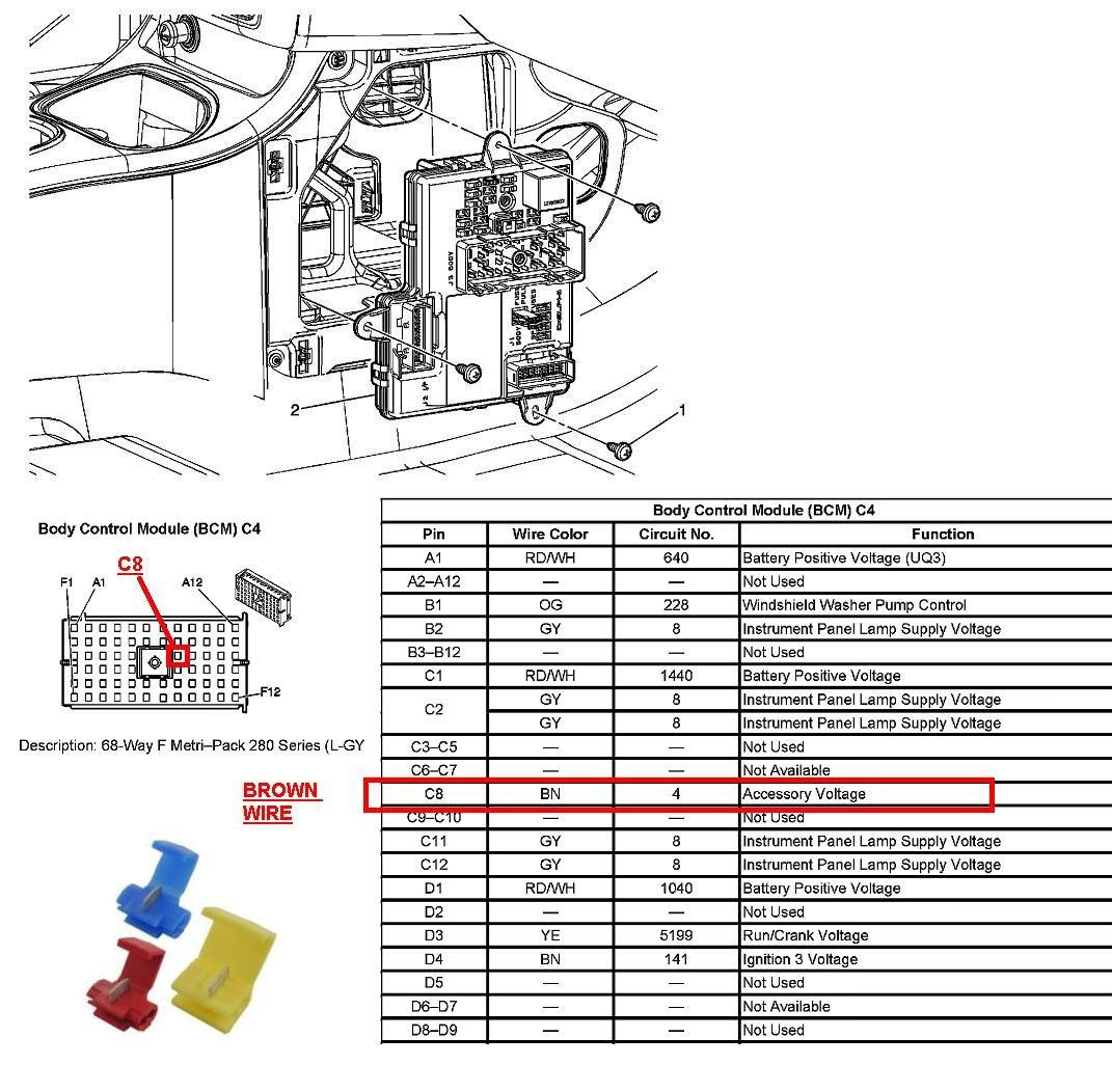 yukon wiring diagram