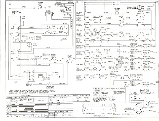 kenmore laundry center wiring diagrams