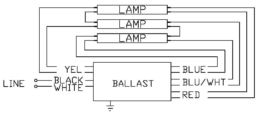 Ho Ballast Wiring Diagram Wiring Diagram