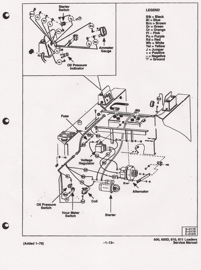 cat 416 wiring diagram