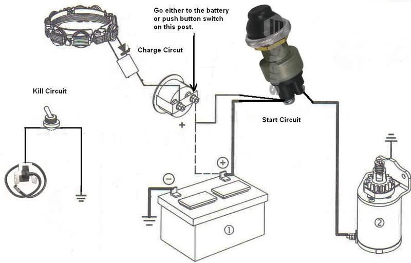 Briggs And Stratton Charging System Wiring Diagram Without Diode