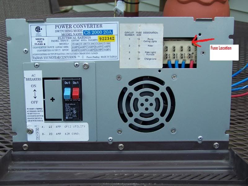 Centurion 3000 Power Converter Wiring Diagram