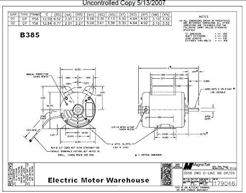 Century Magnetek Electric Motor Wiring Diagram