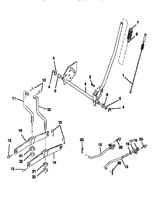 sears lt4000 wiring diagram