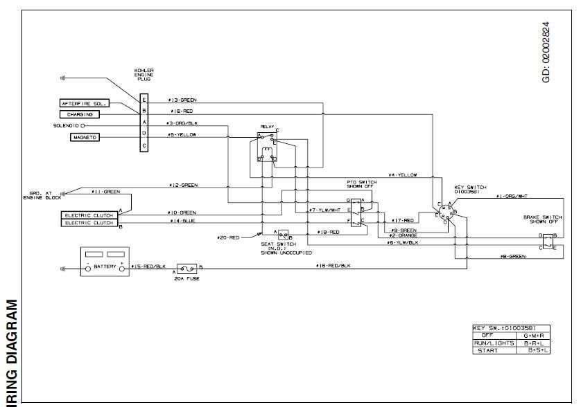 Cub Cadet 110 Wiring Diagram Wiring Diagram