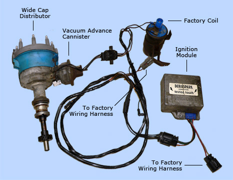 Ford 390 Duraspark Ignition Wiring Diagram
