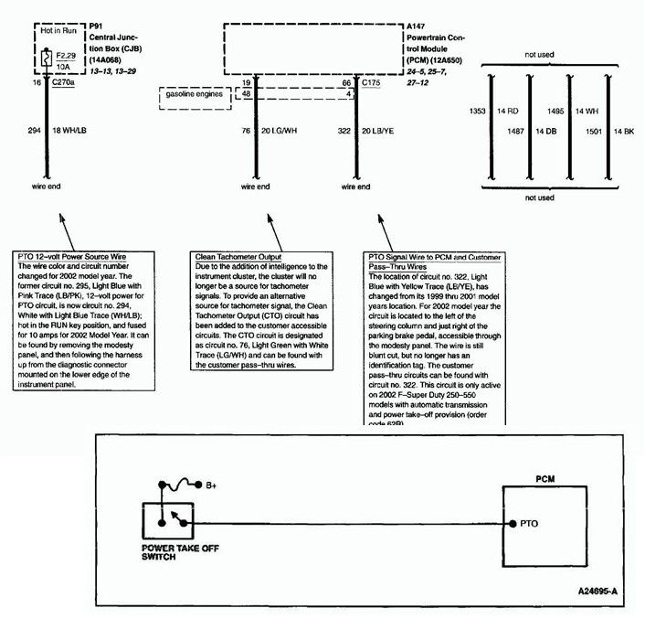 Ford F550 Pto Wiring Diagram