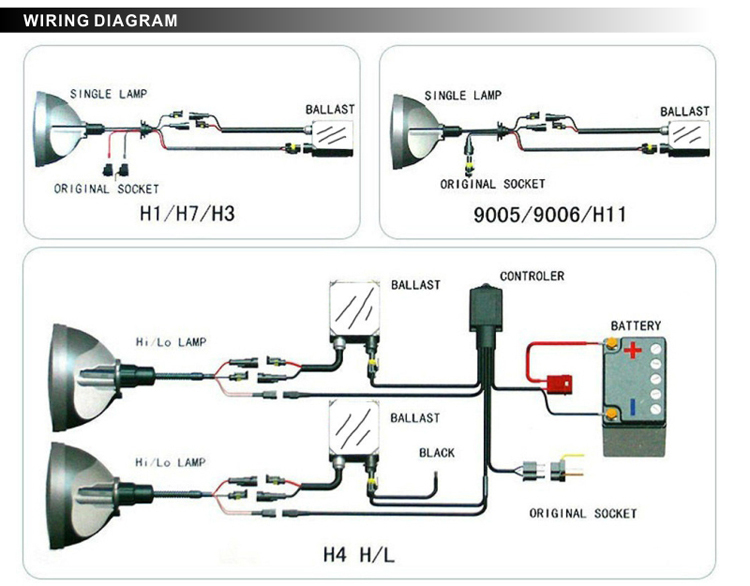 H13 High Low Relay Wiring Diagram Index listing of wiring diagrams
