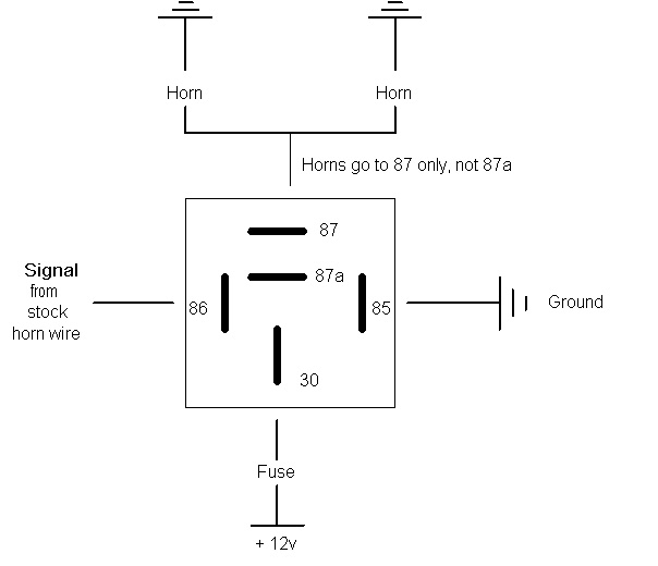 Hella Supertone Horn Wiring Diagram