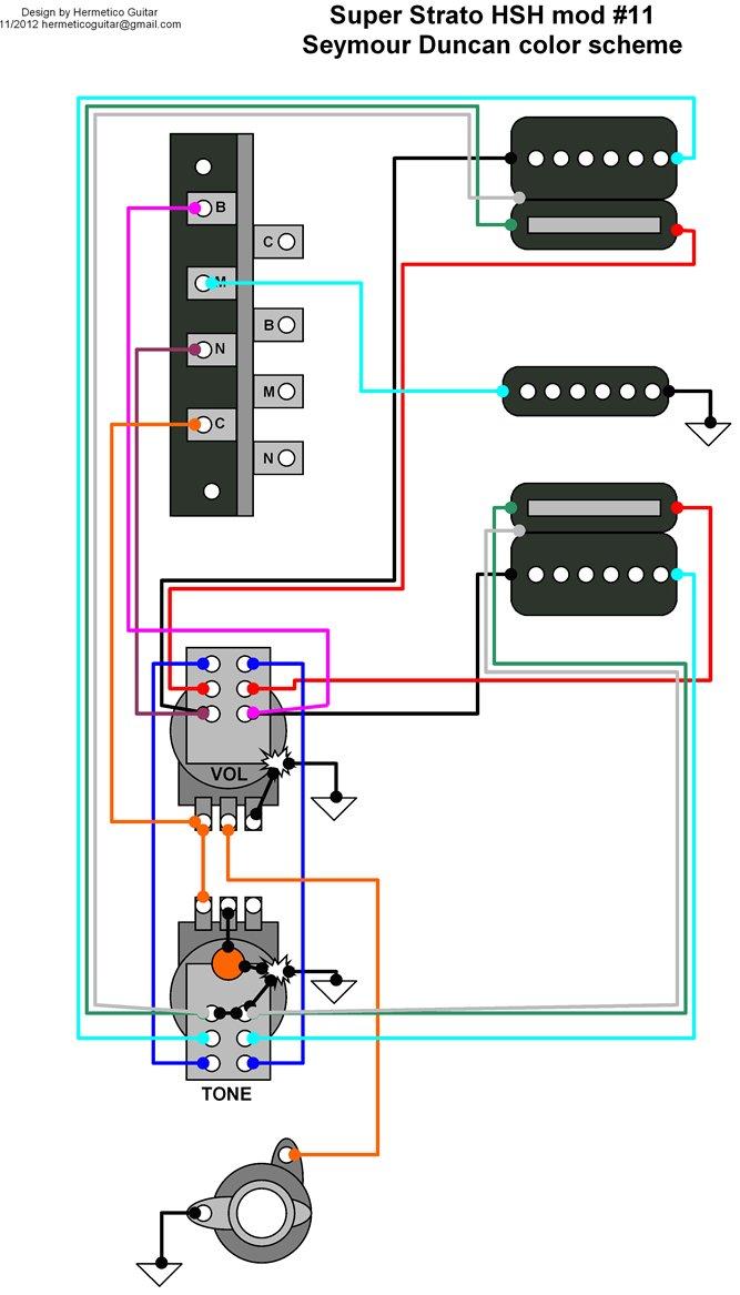 Hsh Wiring Diagram 5 Way Switch
