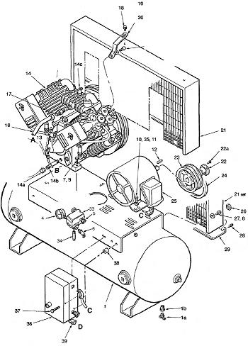 Ingersoll Rand Model Air Compressor Wiring Diagram on ingersoll rand 2475 manual, ingersoll rand 2475n7.5 wiring diagram, ingersoll rand 2475 compressor, ingersoll rand 2475 parts,